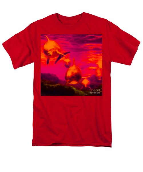 Odyssey v2 - square T-Shirt by Wingsdomain Art and Photography