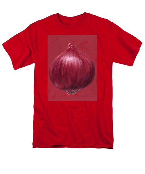Red Onion Men's T-Shirt  (Regular Fit) by Brian James