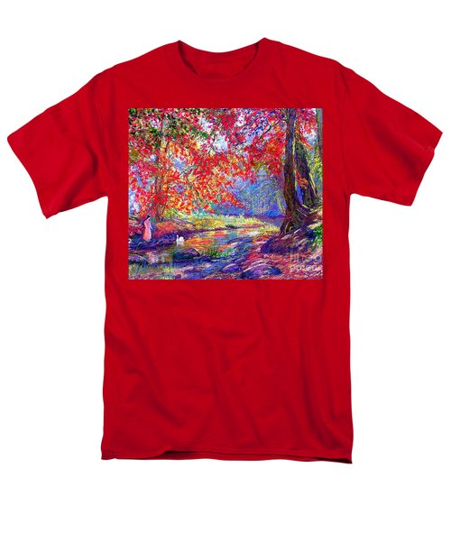 River of Life T-Shirt by Jane Small