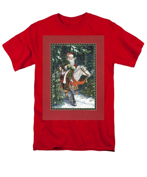Santa of the Northern Forest T-Shirt by Lynn Bywaters