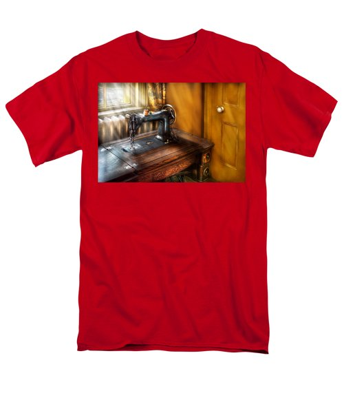 Sewing Machine  - The Sewing Machine  T-Shirt by Mike Savad