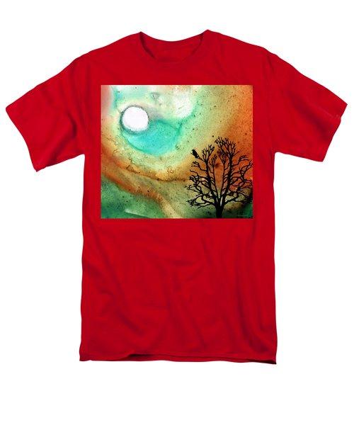 Summer Moon - Landscape Art By Sharon Cummings T-Shirt by Sharon Cummings