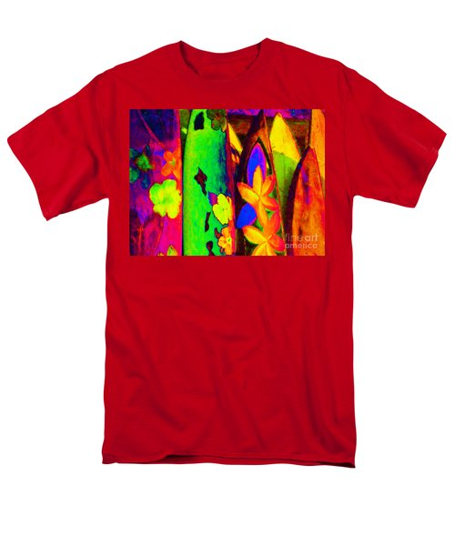 Surf Boards v2 T-Shirt by Wingsdomain Art and Photography