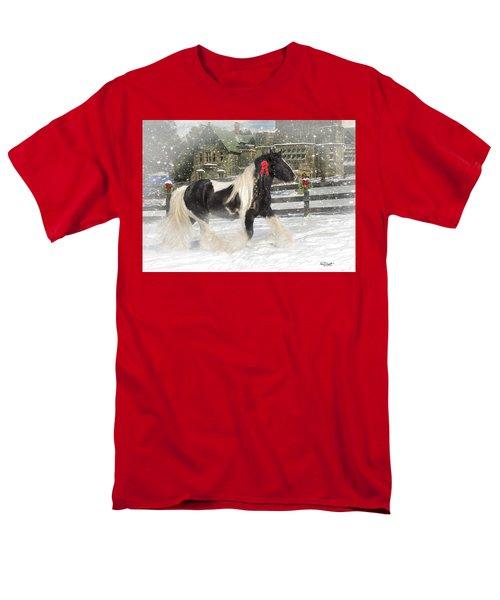The Christmas Pony T-Shirt by Fran J Scott
