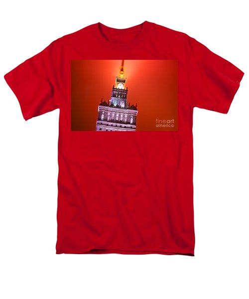 The Palace of Culture and Science Warsaw Poland  T-Shirt by Michal Bednarek