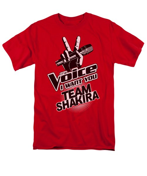 The Voice - Team Shakira Men's T-Shirt  (Regular Fit) by Brand A