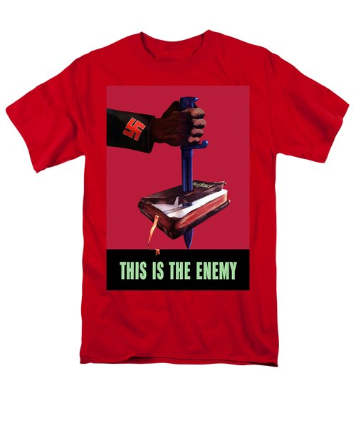 This Is The Enemy T-Shirt by War Is Hell Store