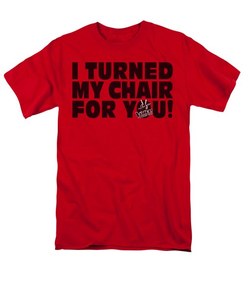 Voice - Turned My Chair Men's T-Shirt  (Regular Fit) by Brand A