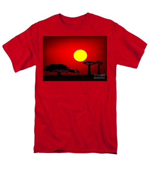 Africa sunset T-Shirt by Michal Boubin