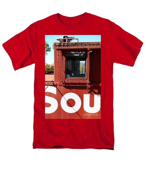 Southern Pacific Caboose - 5D19235 T-Shirt by Wingsdomain Art and Photography