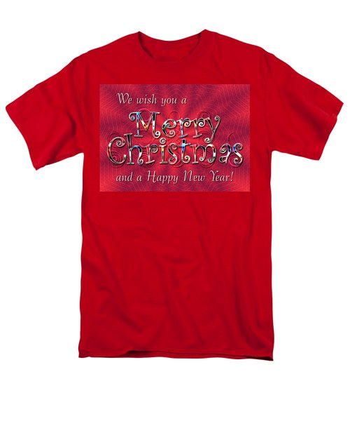 We Wish You a Merry Christmas T-Shirt by Susan Kinney