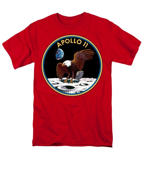 Apollo 11 Men's T-Shirt  (Regular Fit) by Otis Porritt