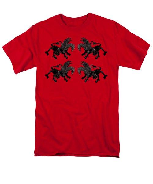 Dragon Cutout Men's T-Shirt  (Regular Fit) by Vladi Alon
