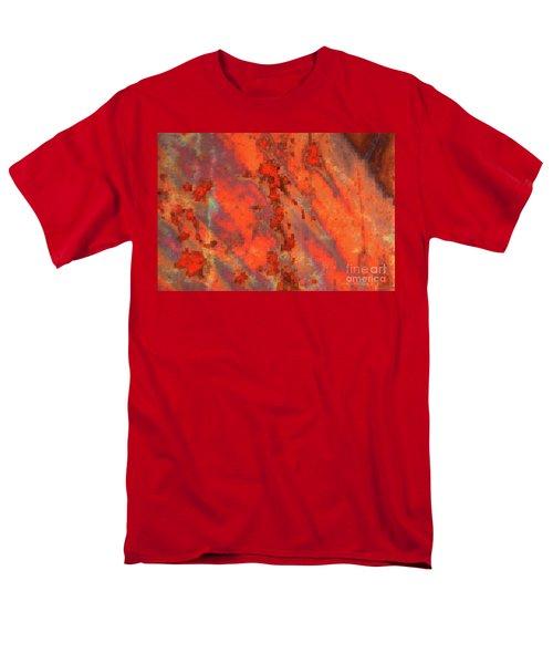 Rust Abstract T-Shirt by Carol Groenen