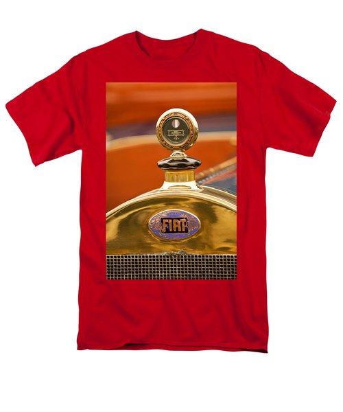 1913 Fiat Type 56 7 Passenger Touring Hood Ornament T-Shirt by Jill Reger