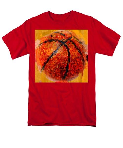 Abstract Basketball T-Shirt by David G Paul