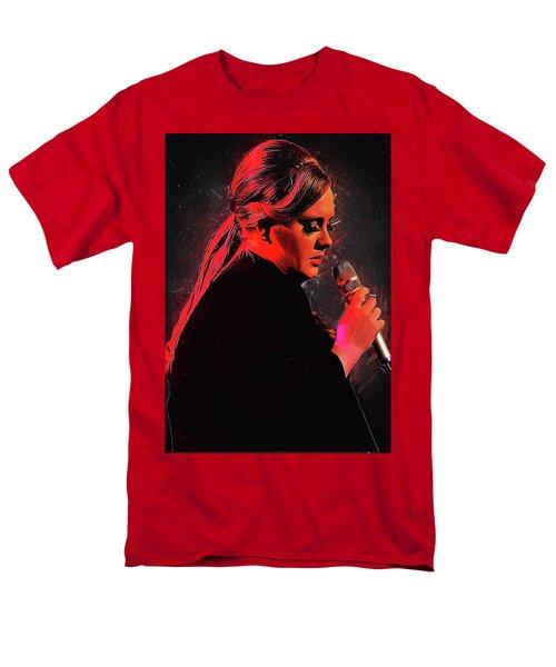 Adele Men's T-Shirt  (Regular Fit) by Semih Yurdabak