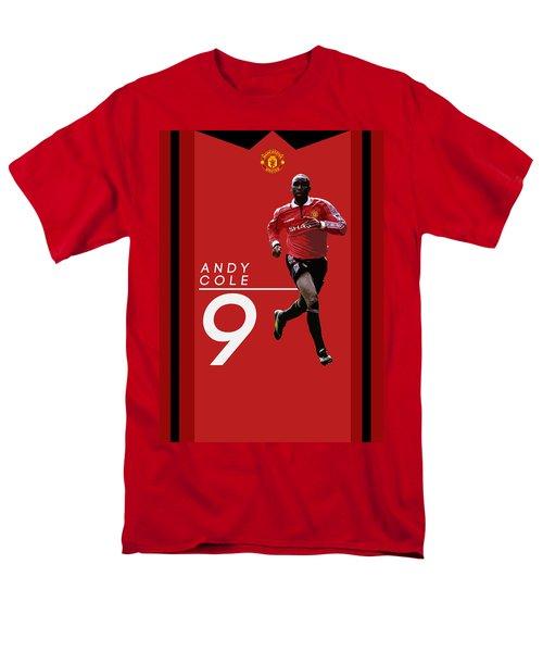 Andy Cole Men's T-Shirt  (Regular Fit) by Semih Yurdabak