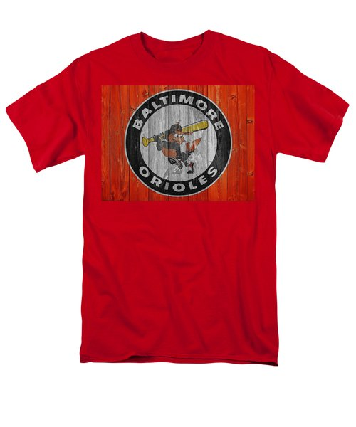Baltimore Orioles Graphic Barn Door Men's T-Shirt  (Regular Fit) by Dan Sproul
