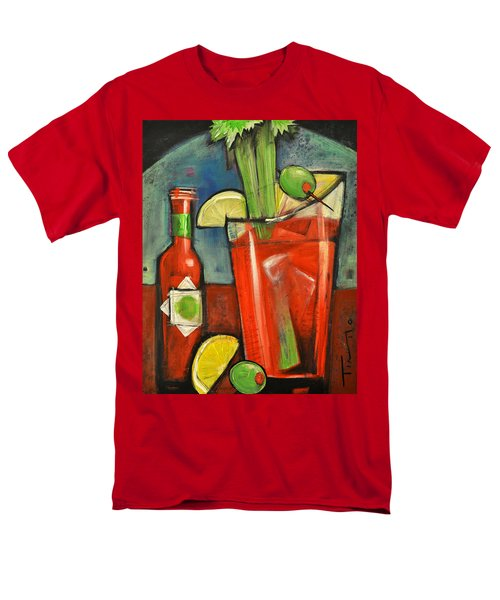 Bloody Mary Men's T-Shirt  (Regular Fit) by Tim Nyberg