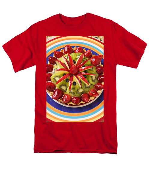 Fancy Tart Pie Men's T-Shirt  (Regular Fit) by Garry Gay