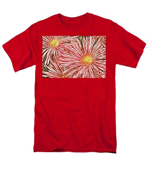 Floral Design No 1 T-Shirt by Ben and Raisa Gertsberg