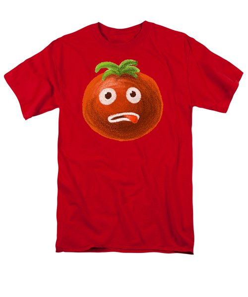 Funny Tomato Men's T-Shirt  (Regular Fit) by Boriana Giormova
