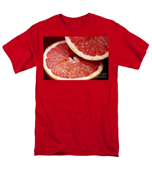 Grapefruit Halves T-Shirt by Ray Laskowitz - Printscapes