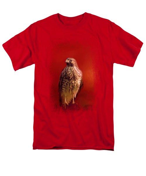 Hawk On A Hot Day Men's T-Shirt  (Regular Fit) by Jai Johnson