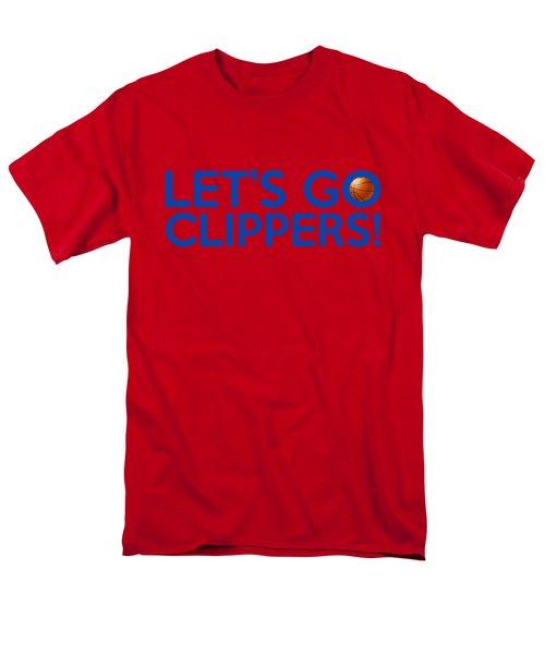 Let's Go Clippers Men's T-Shirt  (Regular Fit) by Florian Rodarte