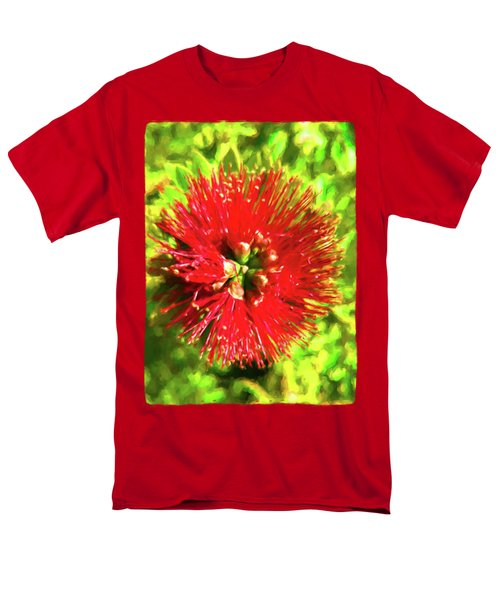 My Surreal Christmas Flower Men's T-Shirt  (Regular Fit) by Jackie VanO
