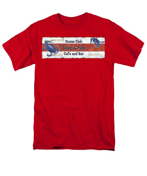 Ocean Club Cafe Men's T-Shirt  (Regular Fit) by Debbie DeWitt