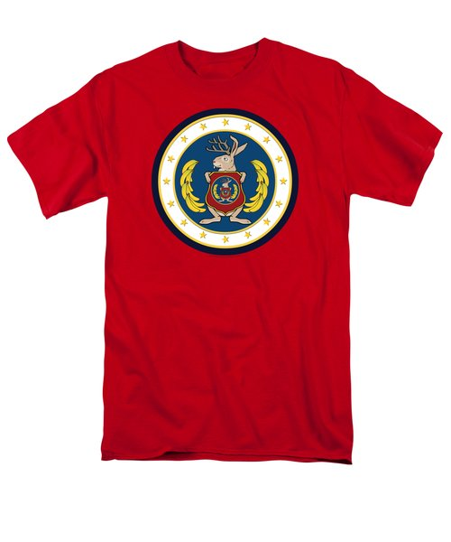 Official Odd Squad Seal Men's T-Shirt  (Regular Fit) by Odd Squad