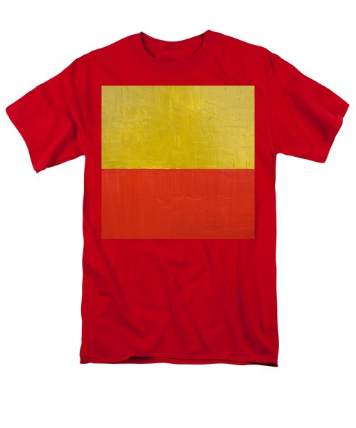 Olive Fire Engine Red T-Shirt by Michelle Calkins