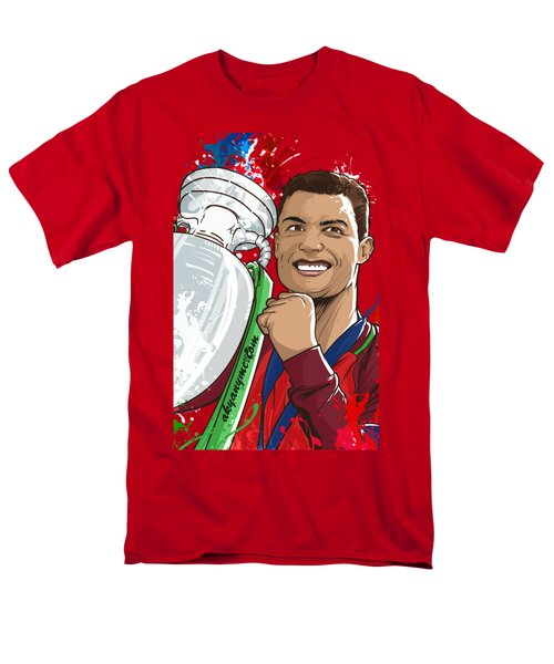 Portugal Campeoes Da Europa Men's T-Shirt  (Regular Fit) by Akyanyme