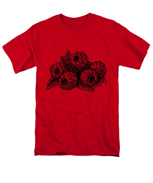 Rasbperries Men's T-Shirt  (Regular Fit) by Irina Sztukowski