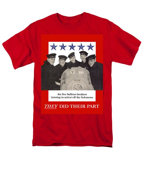 The Sullivan Brothers T-Shirt by War Is Hell Store