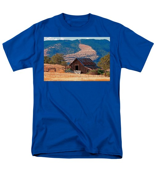 Columbia River Barn T-Shirt by Peter Tellone