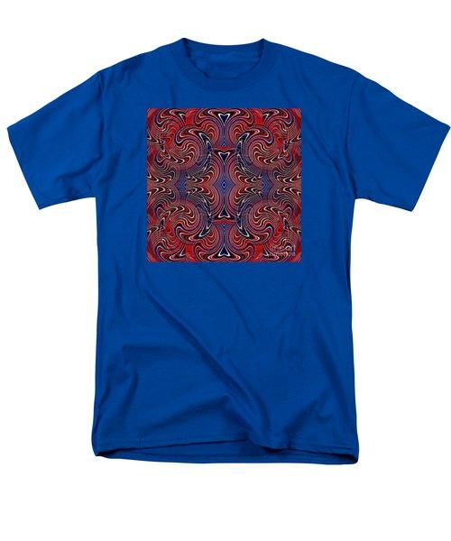 Americana Swirl Design 4 T-Shirt by Sarah Loft