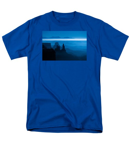 Blue Moon Mesa T-Shirt by Dustin  LeFevre