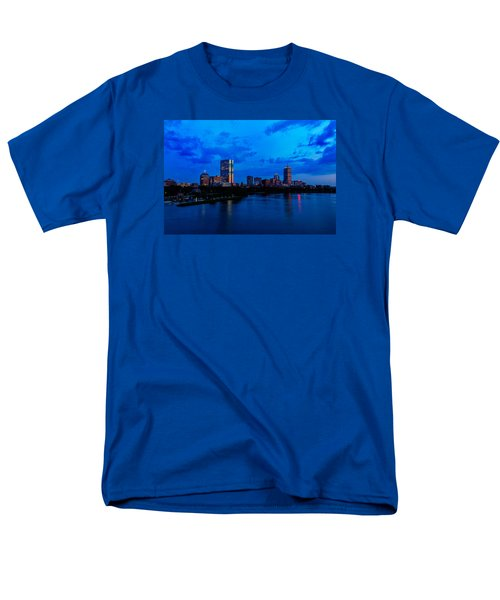 Boston Evening Men's T-Shirt  (Regular Fit) by Rick Berk