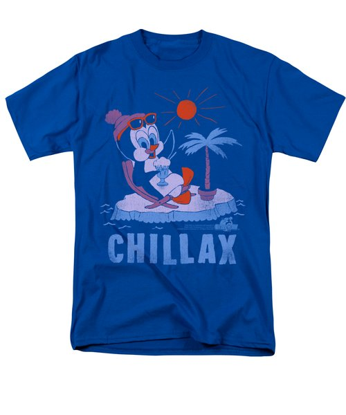 Chilly Willy - Chillax Men's T-Shirt  (Regular Fit) by Brand A
