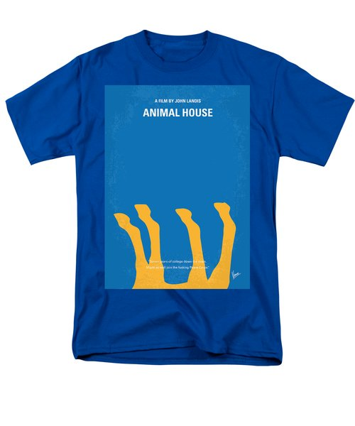 No230 My Animal House minimal movie poster T-Shirt by Chungkong Art
