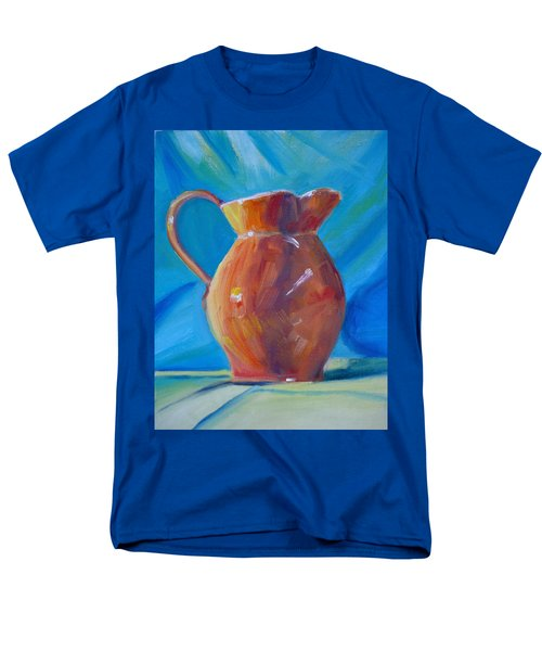 Orange Pitcher Still Life T-Shirt by Donna Tuten