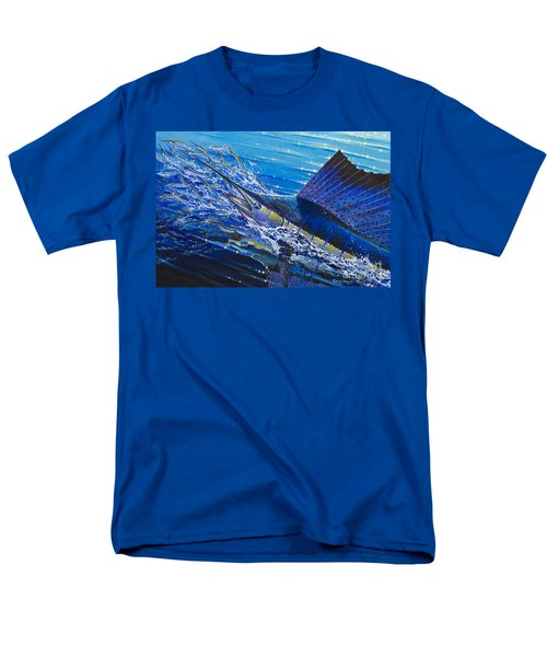 Sail On The Reef Off0082 Men's T-Shirt  (Regular Fit) by Carey Chen