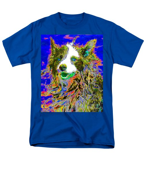 Sheep Dog 20130125v3 T-Shirt by Wingsdomain Art and Photography