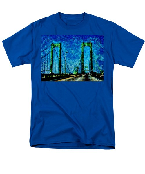 The Delaware Memorial Bridge T-Shirt by Angelina Vick