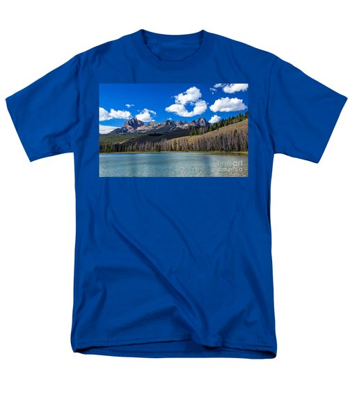 View From Little Redfish Lake T-Shirt by Robert Bales