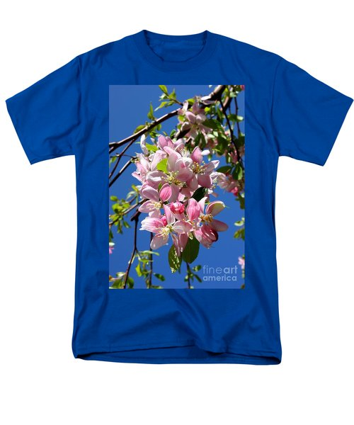 Weeping Cherry Tree Blossoms T-Shirt by Carol Groenen