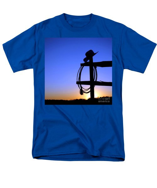 Western Sunset T-Shirt by Olivier Le Queinec